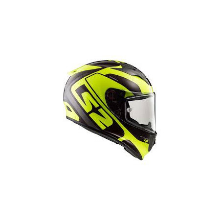 CASQUE LS2 STING WINEBERRY YELLOW